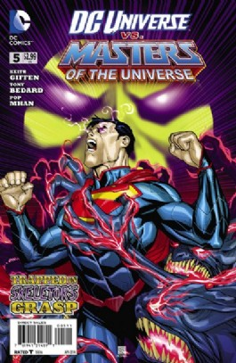 DC Universe Vs. Masters of the Universe #5