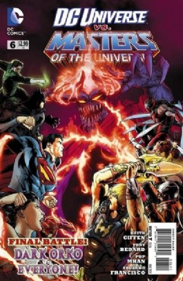 DC Universe Vs. Masters of the Universe #6