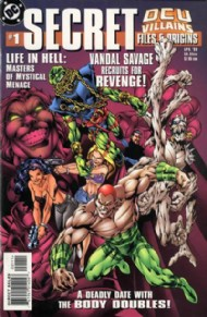 Dcu Villains Secret Files and Origins 1999 #1