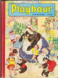 Playhour Annual 1957 - 1986 #1958