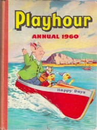 Playhour Annual 1957 - 1986 #1960