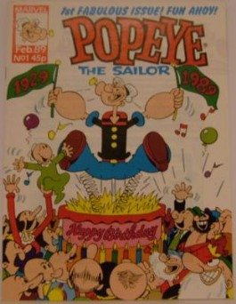 Popeye the Sailor #1