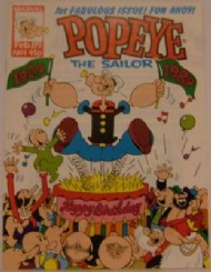 Popeye the Sailor 1989 #1