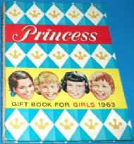 Princess Gift Book for Girls 1961 - 1976 #1964