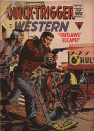 Quick-Trigger Western 1956 #1