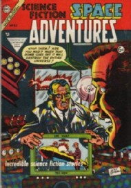 Science Fiction Space Adventures Early 1950s #52