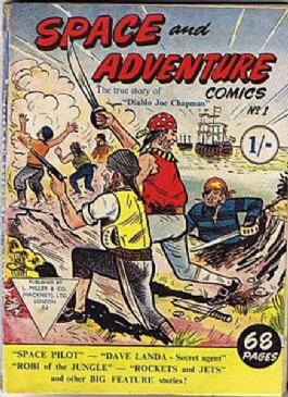 Space and Adventure Comics #1