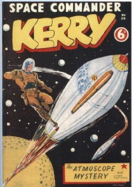 Space Commander Kerry 1953 - 1954 #50