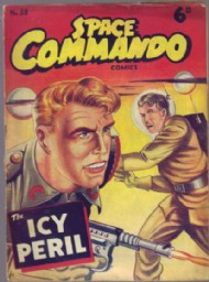 Space Commando Comics 1953 #58