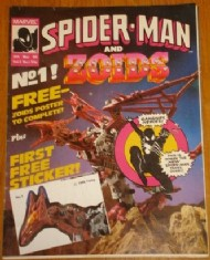 Spider-Man and Zoids 1986 - 1987 #1