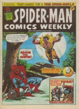 Spider-Man Comics Weekly #7