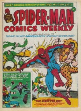 Spider-Man Comics Weekly #9
