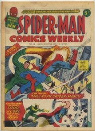 Spider-Man Comics Weekly 1973 - 1985 #12