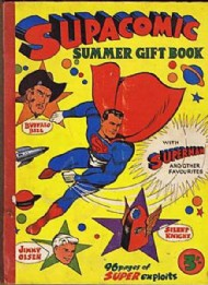 Supacomic Summer Gift Book Late 1950s