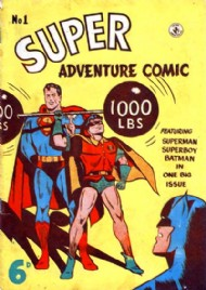 Superadventure Comic 1950 - 1960 #1