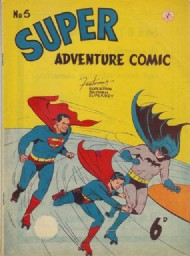 Superadventure Comic 1950 - 1960 #5