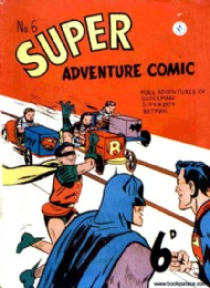 Superadventure Comic 1950 - 1960 #6