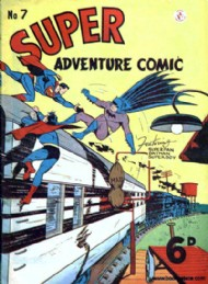 Superadventure Comic 1950 - 1960 #7