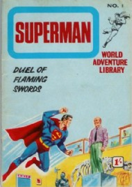 Superman World Adventure Library 1967 - #1