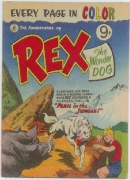 The Adventures of Rex the Wonder Dog #1