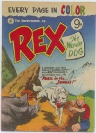 The Adventures of Rex the Wonder Dog 1952 - 1959 #1