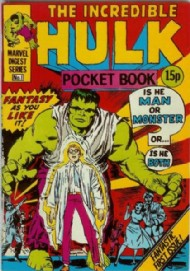 Incredible Hulk Pocket Book 1980 - 1981 #1