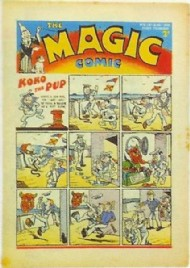 The Magic Comic 1939 - 1941 #5