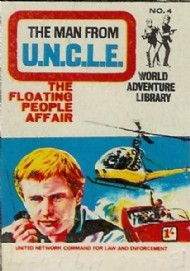 The Man From Uncle World Adventure Library 1967 #4