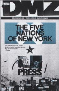 Dmz: the Five Nations of New York 2012 #12