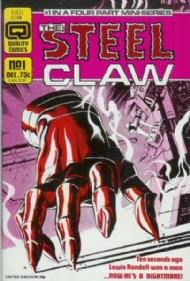The Steel Claw 1986 - 1987 #1