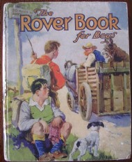The Rover Book for Boys  #1932