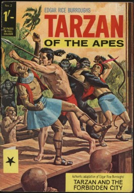 Tarzan of the Apes (1st Series) #2