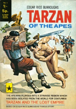 Tarzan of the Apes (1st Series) #6
