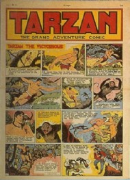 Tarzan the Grand Adventure Comic (Volume 1) 1951 - 1953 #1