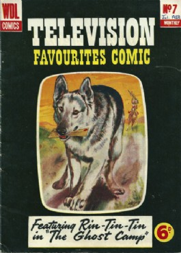 Television Favourites Comic #7