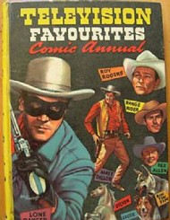 Television Favourites Comic Annual 1956 - 1961 #1956