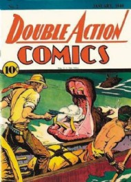 Double Action Comics 1940 #2