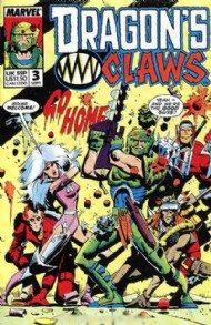 Dragon's Claws 1988 - 1989 #3