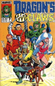 Dragon's Claws 1988 - 1989 #7