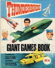 Thunderbirds Giant Games Book 1967