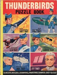 Thunderbirds Puzzle Book  #1966