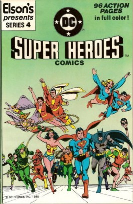 Elson's Presents Super Heroes Comics #4