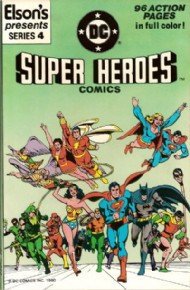 Elson's Presents Super Heroes Comics 1981 #4
