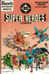 Elson's Presents Super Heroes Comics 1981 #5