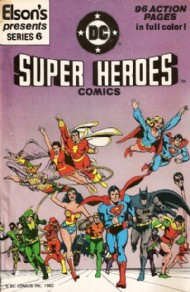 Elson's Presents Super Heroes Comics 1981 #6