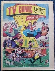 TV Comic Summer / Holiday Special 1962 - 1986 #1965
