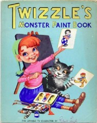 Twizzle Monster Paint Book  #1959