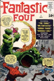 Fantastic Four (1st Series) 1961 - 2012 #1
