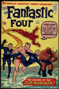 Fantastic Four (1st Series) 1961 - 2012 #4