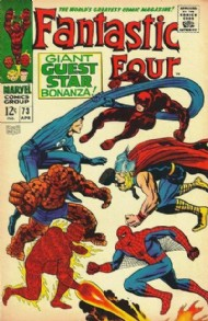 Fantastic Four (1st Series) 1961 - 2012 #73